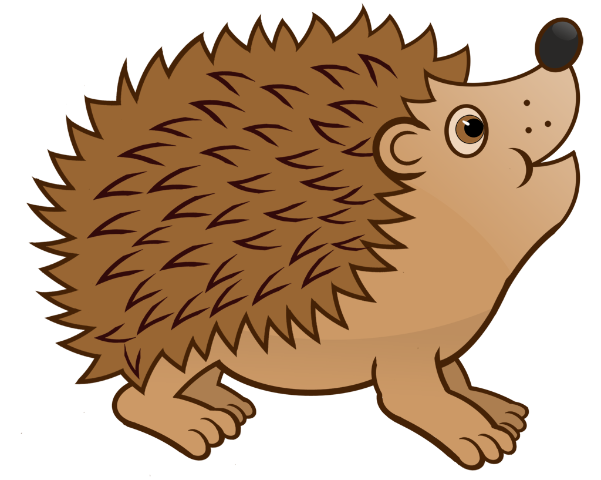 hedgehog-clipart-baby-hedgehog-4